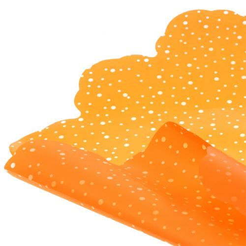 Rondella prikker orange Ø68cm 50p