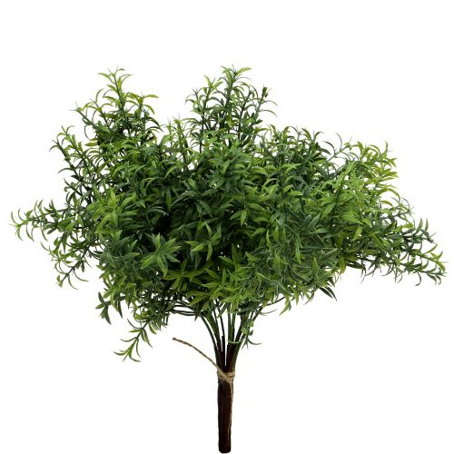 Kunstig rosmarin gren grøn 35cm 3stk