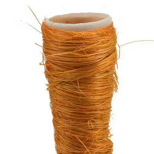 Sisal spidsvase orange Ø1.5cm L15cm 20stk