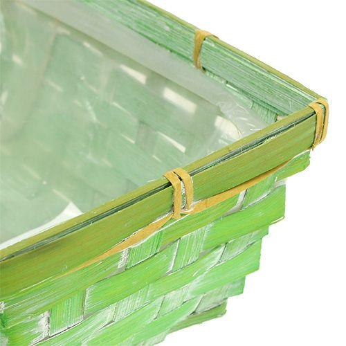 Chip kurv sæt vinklet flerfarvet 20/11 cm 8stk