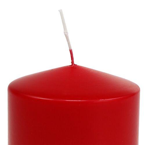 Søjelys 100/100 rød 4stk
