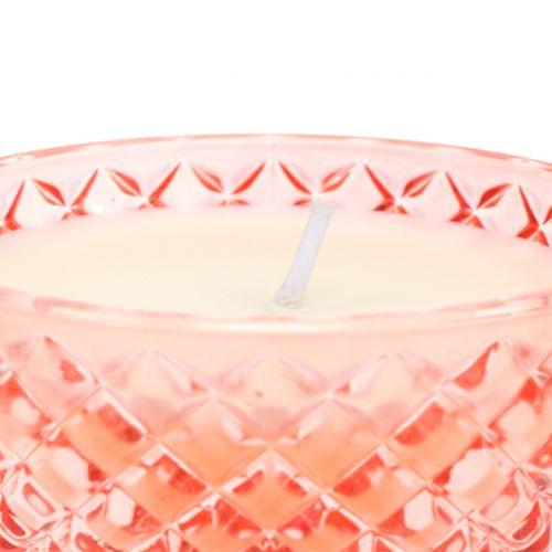 Duftlys i et tropisk glas Ø10cm