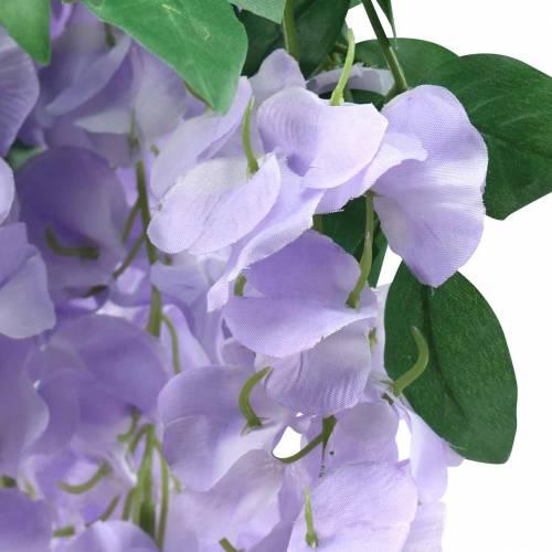 Garland wisteria lilla 175cm 2stk