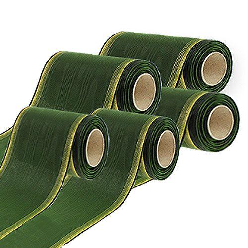 Kransebånd moiré mørkegrøn
