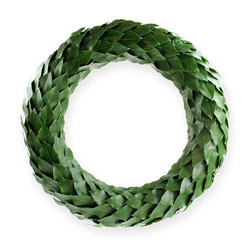 Laurelkrans Ø46cm grøn