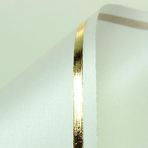 Garland bånd creme computerprint 125mm 25m