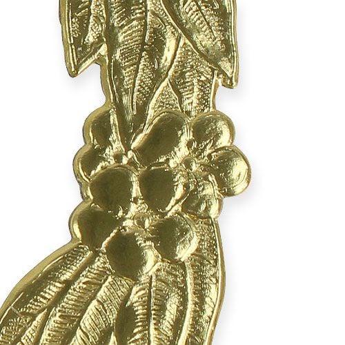 Jubilæumsnumre 24cm guld