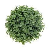 Boksvedkugle kunstgrøn Ø18cm