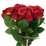 Roserød 44cm 6stk