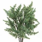 Juniper gren kunstgrøn 36cm 4stk