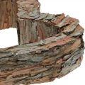 Deco hjerte træ fyrbark 40 × 32cm